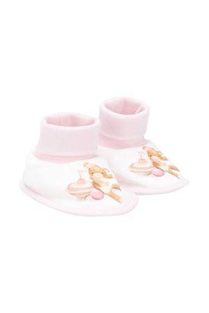 Babbucce bianche e rosa con stampa Monnalisa kids Monnalisa kids | 1114339167 | 3560056020192C