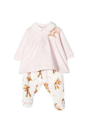 Completo maglia rosa e pantalone con stampa Monnalisa kids Monnalisa kids | 42 | 356501A16020192C