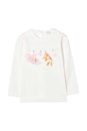 T-shirt bianca Monnalisa kids Monnalisa kids | 8 | 396603SB60000001