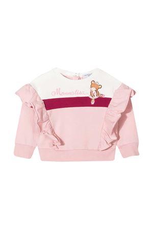 Felpa rosa neonata Monnalisa Monnalisa kids | -108764232 | 396604R560010066