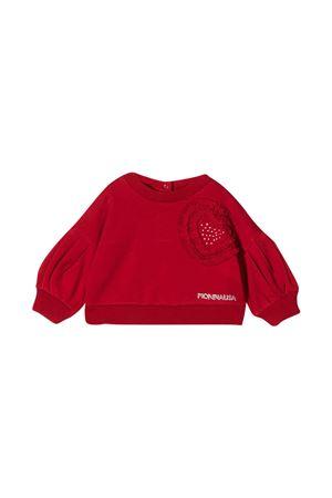 Red sweatshirt baby Monnalisa  Monnalisa kids | -108764232 | 39661860720043