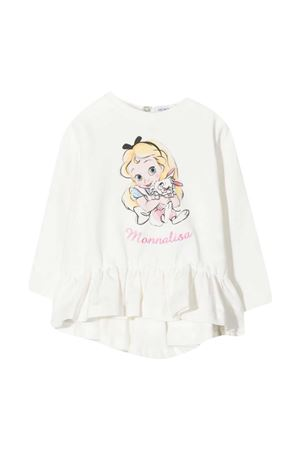 White t-shirt baby Monnalisa  Monnalisa kids | 8 | 396625PI60000001