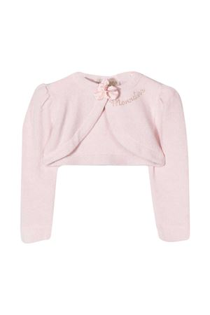 Cardigan rosa neonata Monnalisa Monnalisa kids | 39 | 736800A262040066