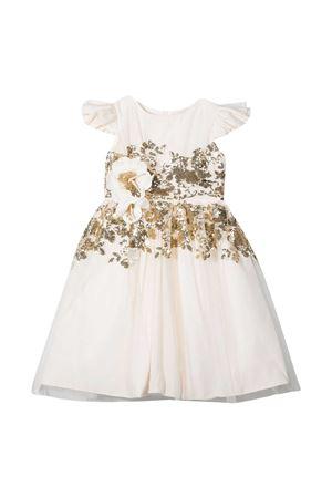 Cream dress Monnalisa  Monnalisa kids   11   77690069707035