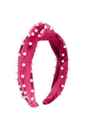 Cerchietto rosa con perle Monnalisa kids Monnalisa kids | 1901739980 | 79600060860098