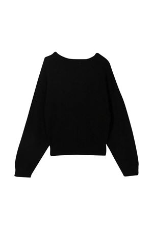 Monnalisa black sweater  Monnalisa kids   7   796606AJ60360050
