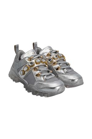 Silver sneakers Monnalisa  Monnalisa kids | 12 | 87600167030075