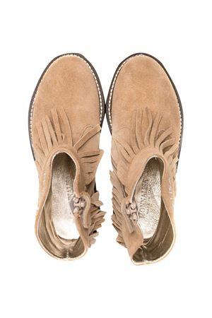 Monnalisa camel ankle boots  Monnalisa kids | 12 | 8C601767230003