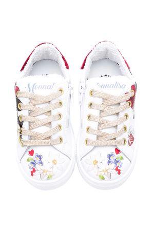 White sneakers Monnalisa  Monnalisa kids   12   8C602467060001