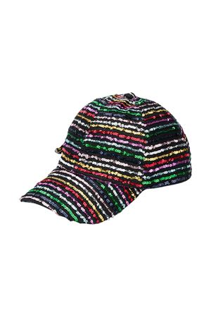 Monnalisa multicolored hat Monnalisa kids | 75988881 | A9600760490084