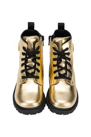 Moschino Kids gold combat boots  MOSCHINO KIDS | 12 | 65617VAR3