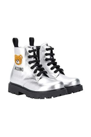 Anfibi argento teen Moschino Kids MOSCHINO KIDS | 12 | 65759VAR1T