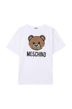 T-shirt bianca Moschino Kids MOSCHINO KIDS | 5032307 | H5M029LBA1210101