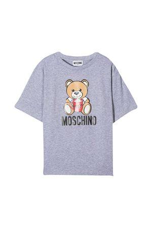 T-shirt grigia Moschino Kids MOSCHINO KIDS | 5032307 | H6M029LBA1160901