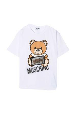 T-shirt bianca Moschino Kids MOSCHINO KIDS | 5032307 | H7M029LBA1210101