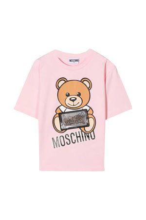 T-shirt rosa Moschino Kids MOSCHINO KIDS | 5032307 | H7M029LBA1250209