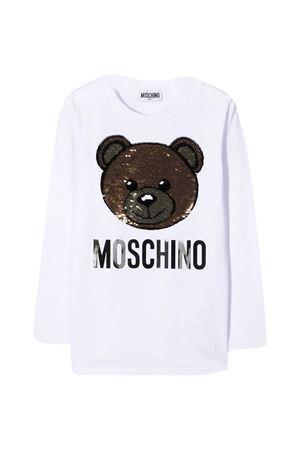 White t-shirt Moschino Kids  MOSCHINO KIDS | 5032307 | HAO000LBA1210101