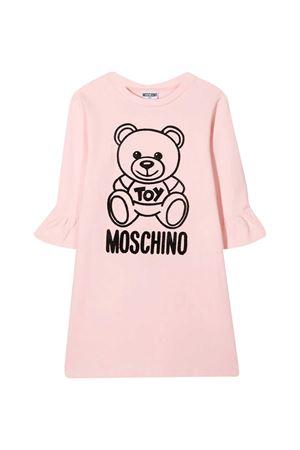 Black dress with toy and logo Moschino kids MOSCHINO KIDS | 11 | HAV081LDA1750209
