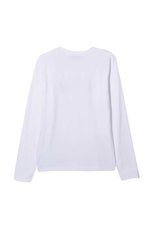 Moschino Kids white sweatshirt  MOSCHINO KIDS | 8 | HBO002LBA1110101