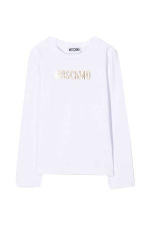 White t-shirt Moschino kids  MOSCHINO KIDS | 8 | HCO002LBA1210101