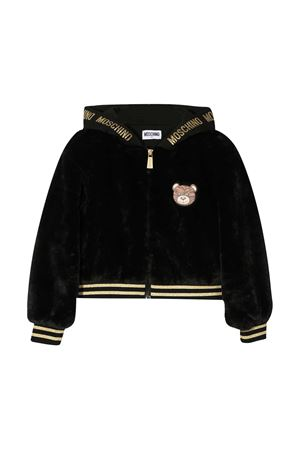 Black bomber jacket Moschino Kids  MOSCHINO KIDS | 1236091882 | HDA005LIA0260100