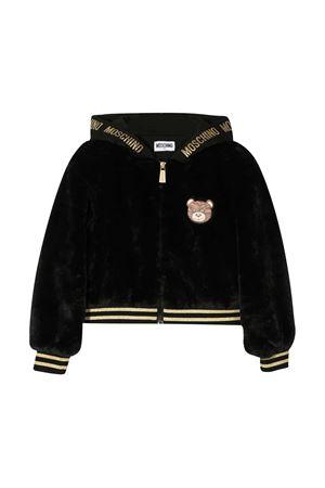 Black teen bomber jacket Moschino Kids MOSCHINO KIDS | 1236091882 | HDA005LIA0260100T