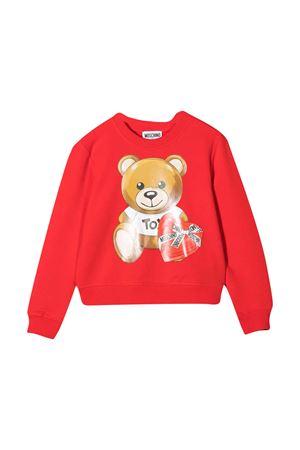 Red sweatshirt teen Moschino Kids MOSCHINO KIDS | -108764232 | HDF02MLDA1650109T