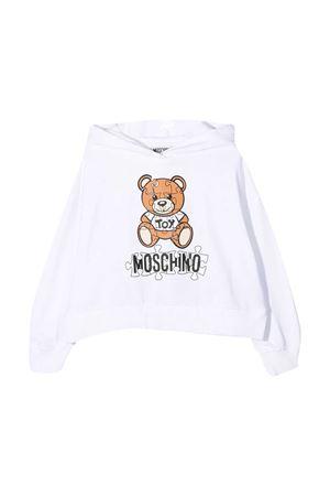 Felpa bianca Moschino kids MOSCHINO KIDS | 5032280 | HDF02PLDA1410101