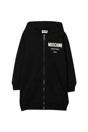 Black sweatshirt Moschino kids  MOSCHINO KIDS | 649347658 | HDF02RLDA1660100