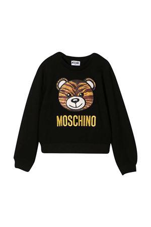 Black sweatshirt teen Moschino kids  MOSCHINO KIDS | -108764232 | HDF02WLJA0260100T