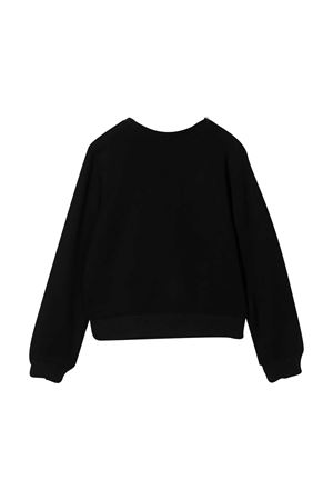 Black Teddy sweatshirt Moschino kids  MOSCHINO KIDS | -108764232 | HDF02WLJA0260100