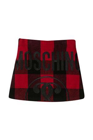 Moschino kids tartan skirt  MOSCHINO KIDS | 15 | HDJ01VN0Z0780462