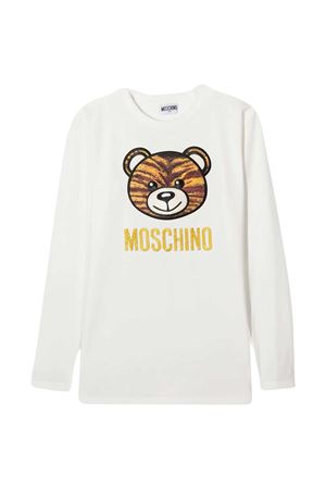 White sweatshirt Moschino Kids MOSCHINO KIDS | 5032307 | HDO000LBA1210063