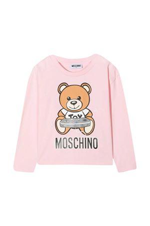 Moschino Kids pink t-shirt  MOSCHINO KIDS | 8 | HDO001LBA1250209