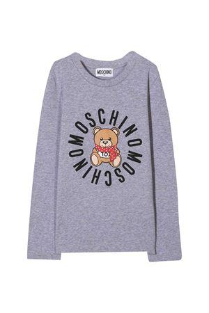 Moschino Kids gray t-shirt  MOSCHINO KIDS | 8 | HDO002LBA2360901