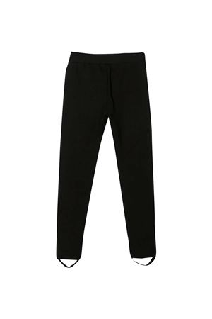 Black leggins Moschino Kids  MOSCHINO KIDS | 411469946 | HDP03TLJA0260100