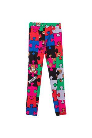 Moschino Kids multicolor leggings  MOSCHINO KIDS | 411469946 | HDP03ULBB4080964