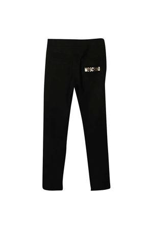 Black slim trousers Moschino Kids  MOSCHINO KIDS | 9 | HDP03WLJA0260100