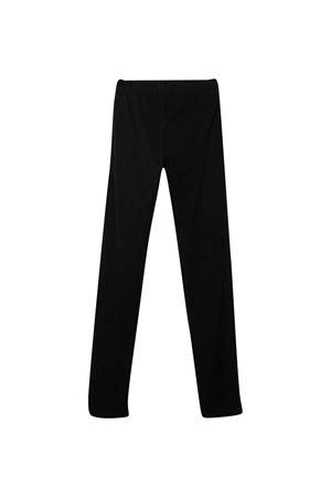 Moschino kids black leggings  MOSCHINO KIDS | 5032349 | HDP03ZLBA1260100