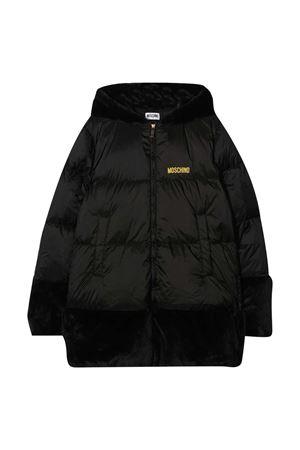 Teen black down jacket Moschino kids MOSCHINO KIDS | 3 | HDS02WL3A2260100T