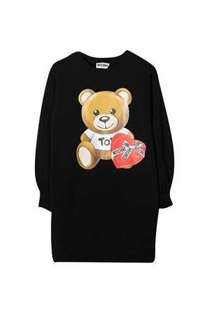 Black teen dress Moschino Kids MOSCHINO KIDS   11   HDV096LDA1660100T