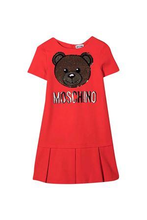 Vestito rosso Moschino Kids MOSCHINO KIDS | 11 | HDV09HLJA0250109