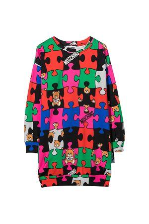 Multicolor teen dress Moschino kids MOSCHINO KIDS | 11 | HKV064LCB1080964T