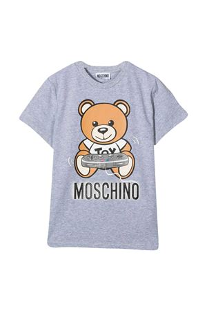 T-shirt grigia teen Moschino Kids MOSCHINO KIDS | 8 | HQM02SLBA1260901T