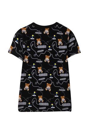 T-shirt nera Moschino Kids MOSCHINO KIDS | 8 | HRM02SLBB3884449