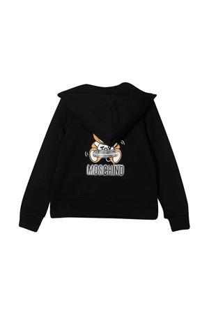 Felpa biker nera Moschino Kids MOSCHINO KIDS | 5032280 | HUF03ZLCA2060100