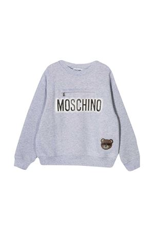 Gray sweatshirt Moschino Kids MOSCHINO KIDS | -108764232 | HUF041LCA2060901