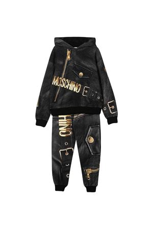 Black sports suit Moschino Kids  MOSCHINO KIDS | 42 | HUK028LDA1660100