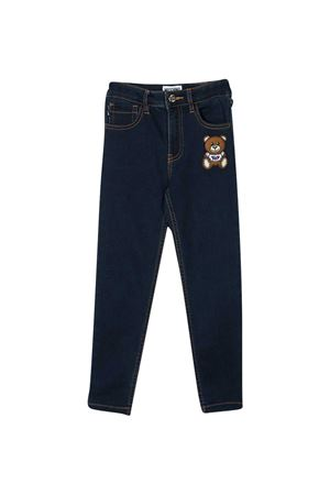 Jeans with Teddy bear application Moschino kids MOSCHINO KIDS | 9 | HUP03YLDE0740016