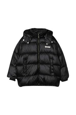 Black down jacket teen Moschino kids MOSCHINO KIDS | 3 | HUS02GL3A3260100T